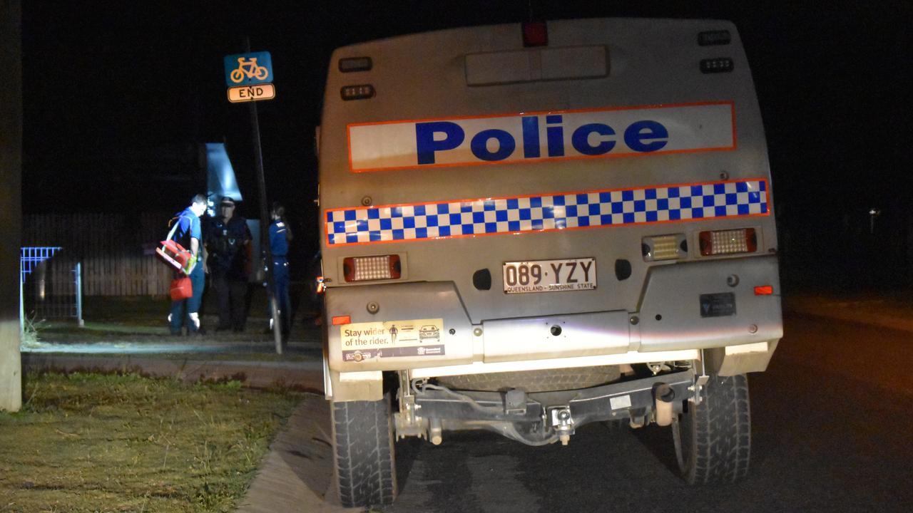 Queensland Police Service attended the scene. Picture: Zizi Averill