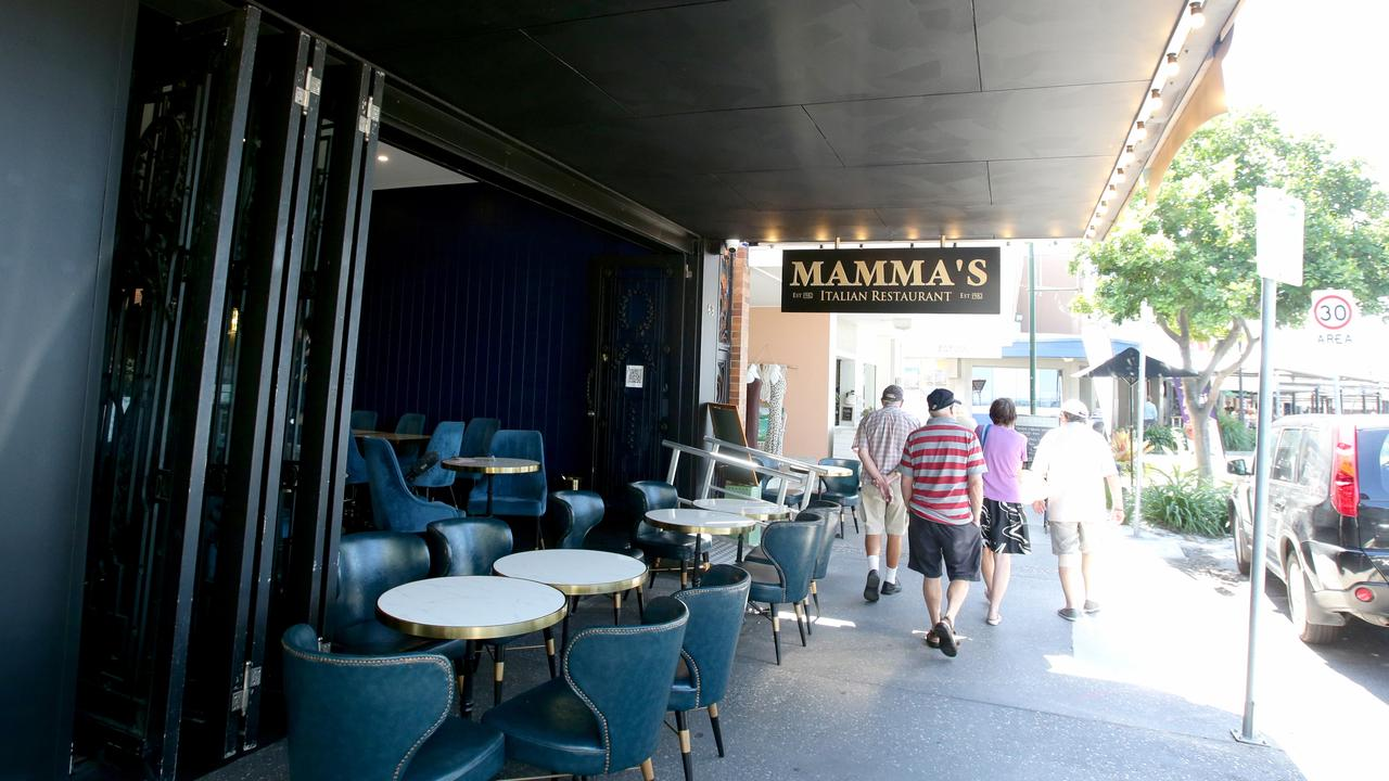 Mamma's Italian Restaurant at Redcliffe. Picture: Steve Pohlner
