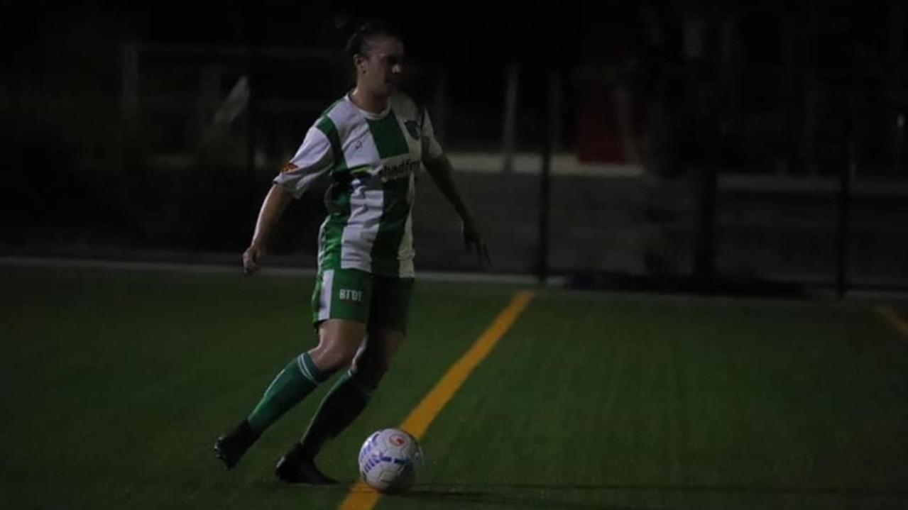 Beerwah Glasshouse premier women's player Jess Davies