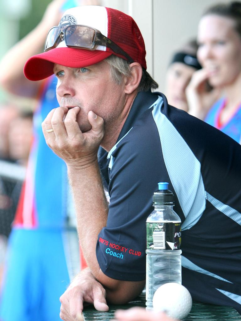 Former Swifts A-Grade coach Brendan Smith. Picture: Sarah Harvey