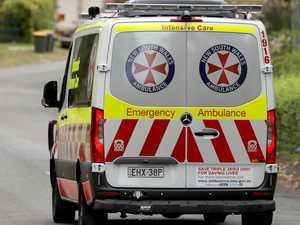 Man in hospital after motorbike crash