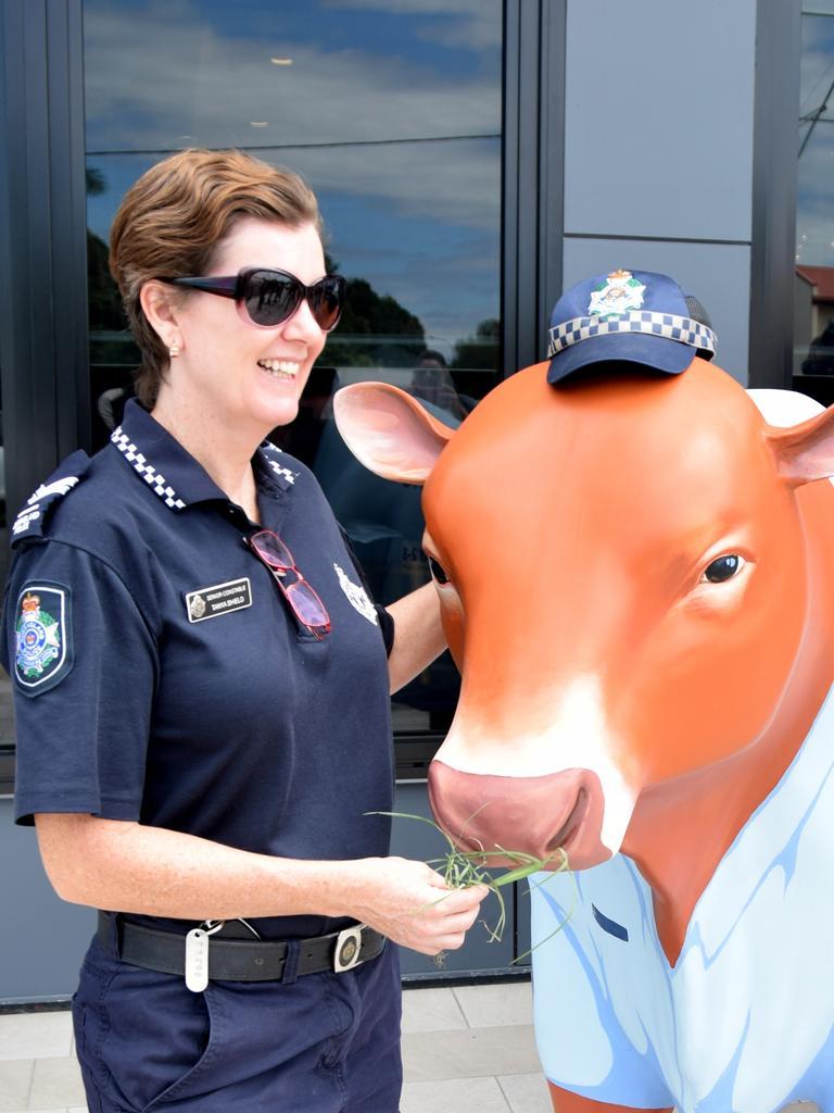 Senior Constable Tanya Shield with Constabull