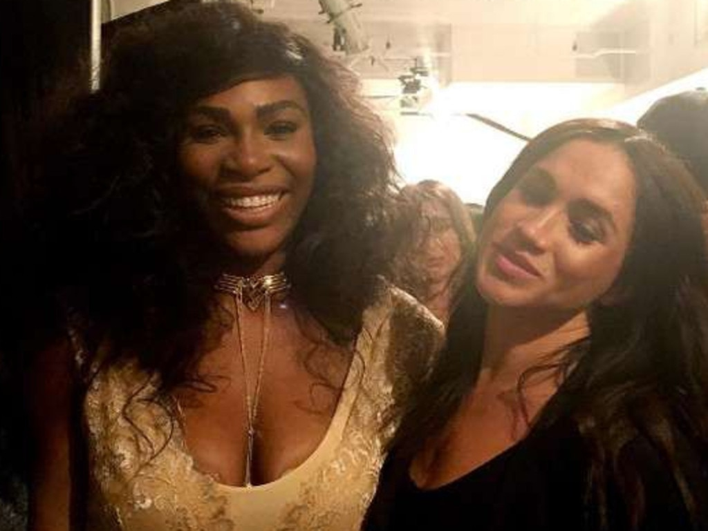 Serena Williams has rushed to defend her friend Meghan Markle. Picture: Instagram