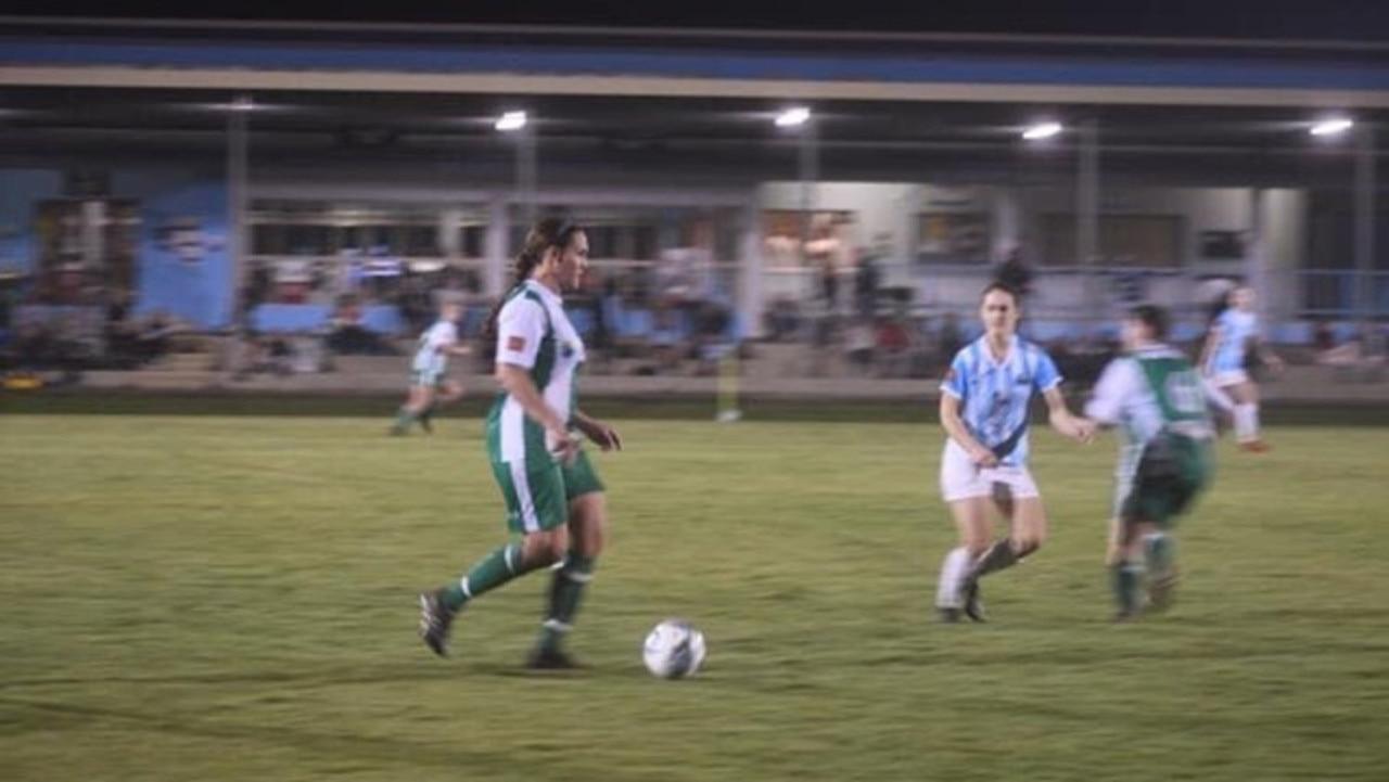 Beerwah Glasshouse premier women's player Mel Weckert