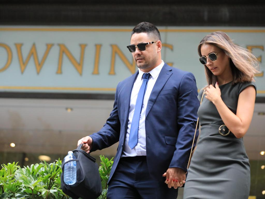 Ms Bonnici stood by Hayne during the trial. Picture: NCA NewsWire/Christian Gilles