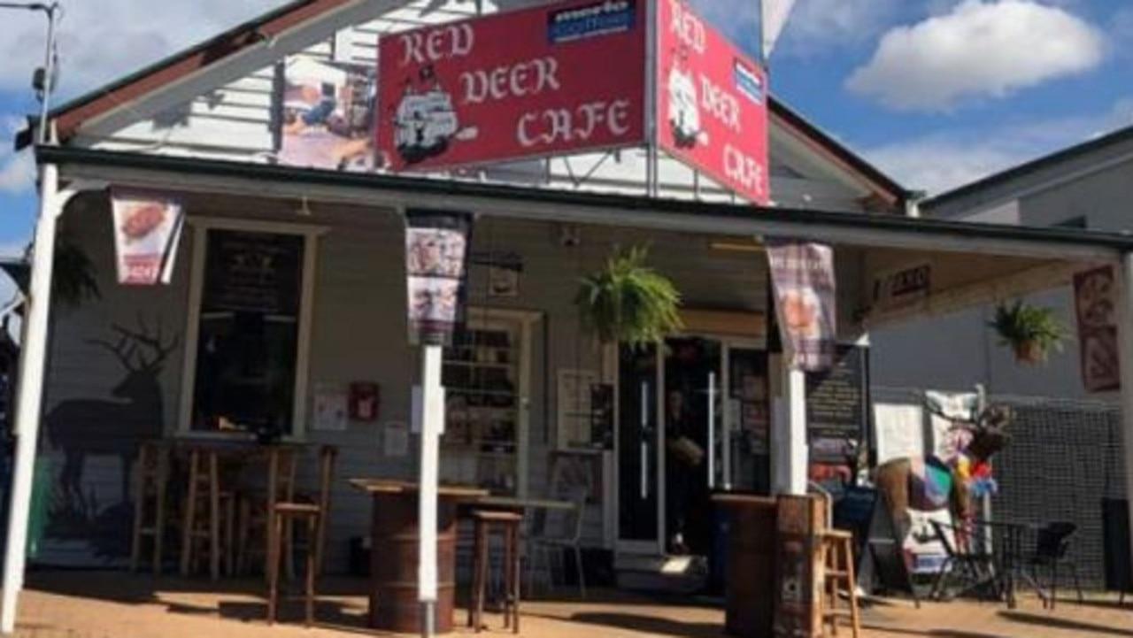 The Red Deer Cafe, Esk.