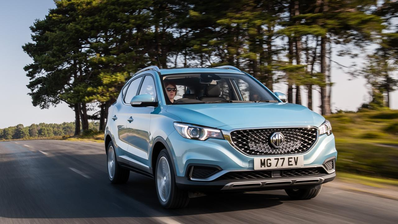 The MG ZS EV currently holds the title of Australia's least expensive electric vehicle.