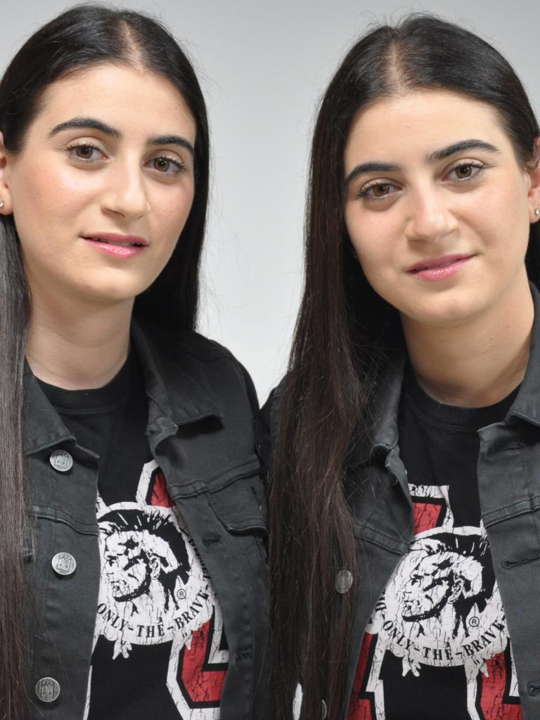 Twin sisters Colina and Hripsime Demirdjian are the creators of the popular Moji Edit app and founded Double Trouble Creatives.