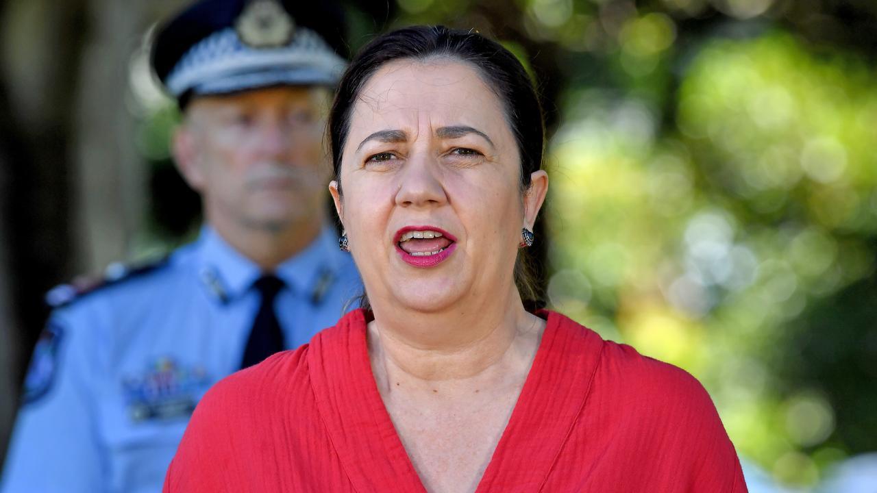 "Queensland Premier Annastacia Palaszczuk. Picture"" John Gass"