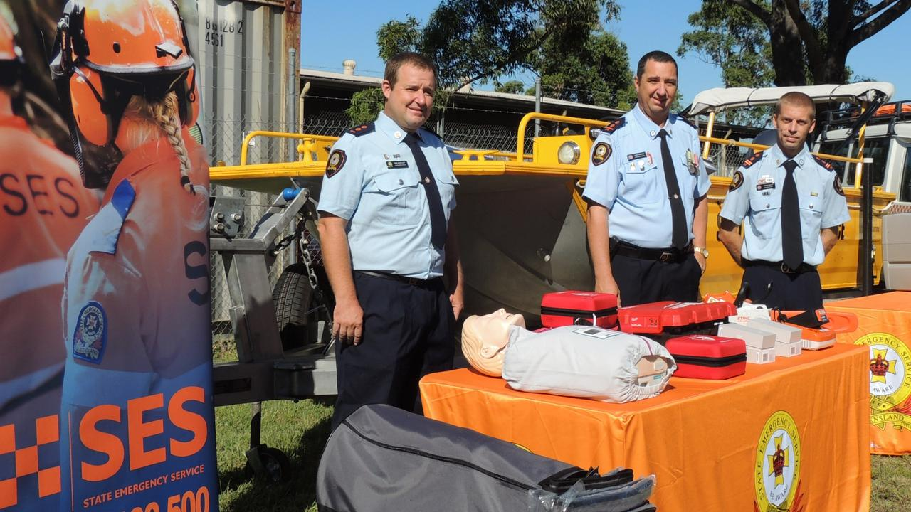 HELPING HAND: The new equipment at local SES bases will help SES efforts to help the community. The new gear is part of the Energising Queensland SES Equipment Program.
