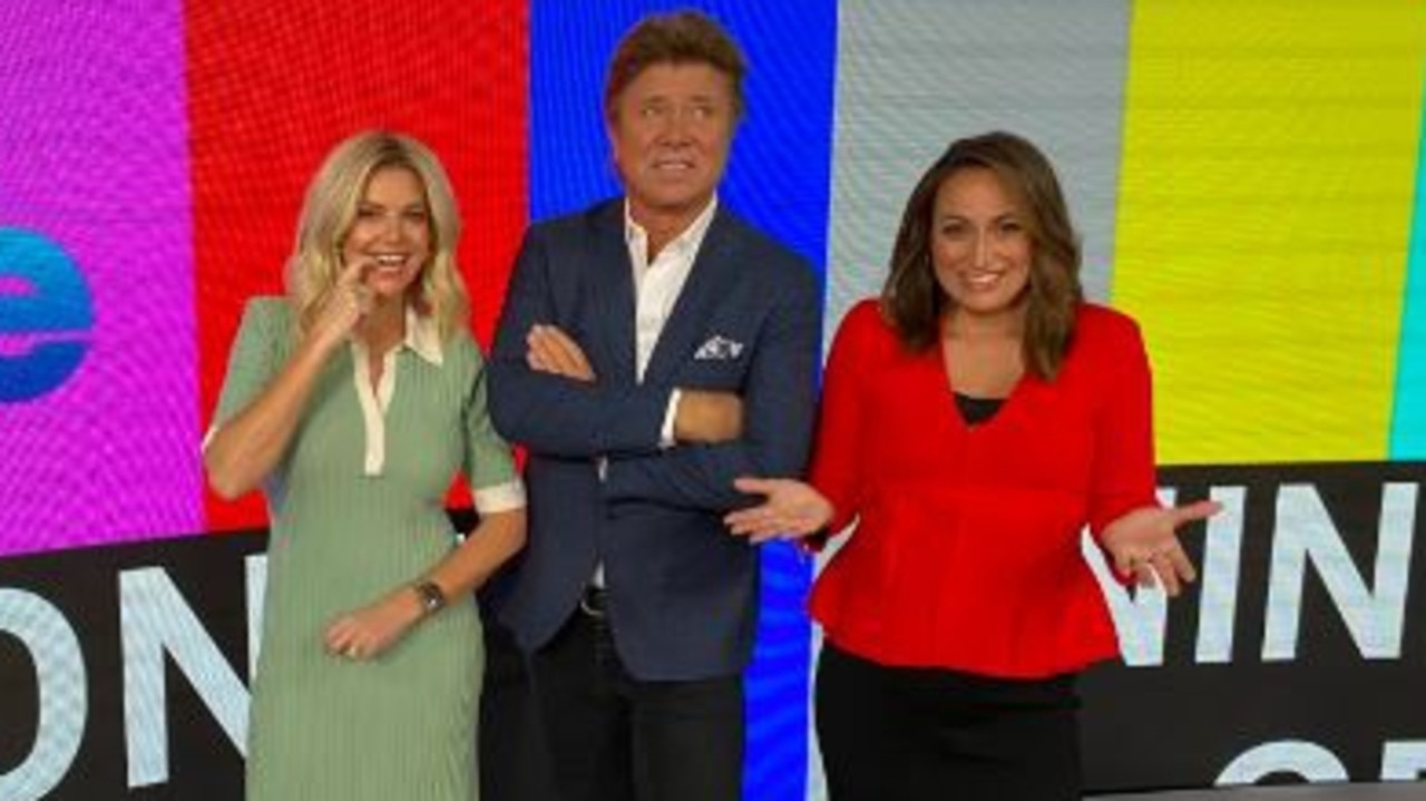 Richard Wilkins tweeted a photo from the studio on Sunday morning.
