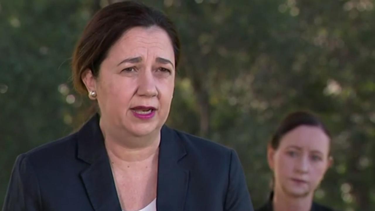 Annastacia Palaszczuk has announced a three-day lockdown for Greater Brisbane.