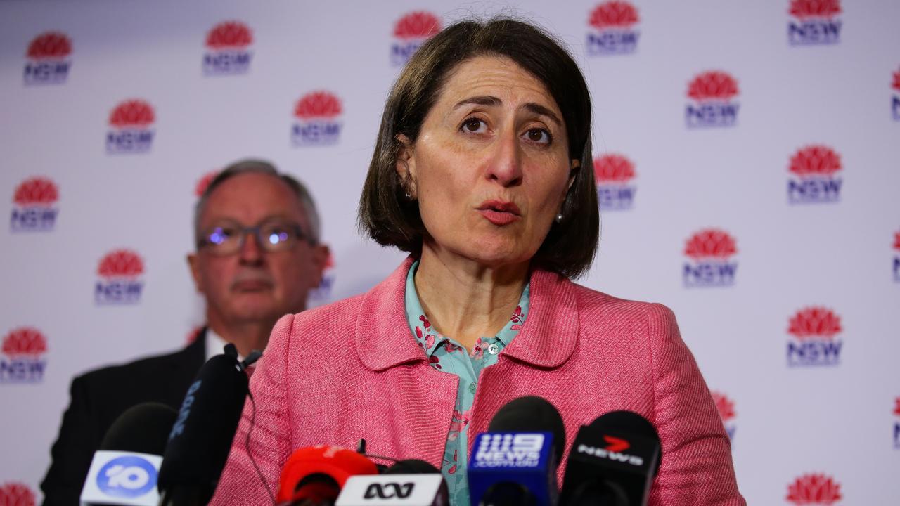 Premier Gladys Berejiklian has urged NSW residents to avoid Brisbane this weekend. Picture: NCA NewsWire / Gaye Gerard