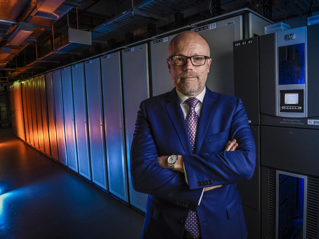 Former cyber security boss Alastair MacGibbon. Picture: Roy VanDerVegt