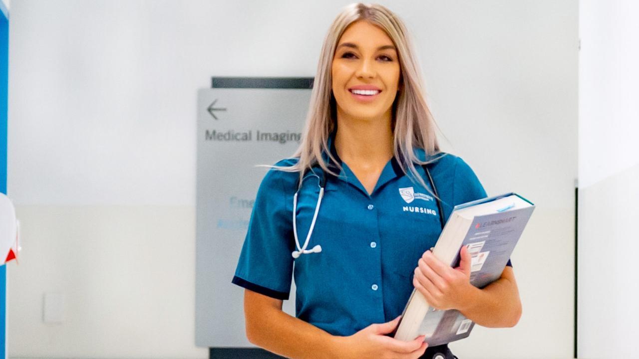 Mackay nurse Alycia Blank. Picture: Daryl Wright