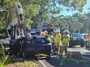 Young woman 'serious' after hinterland truck crash