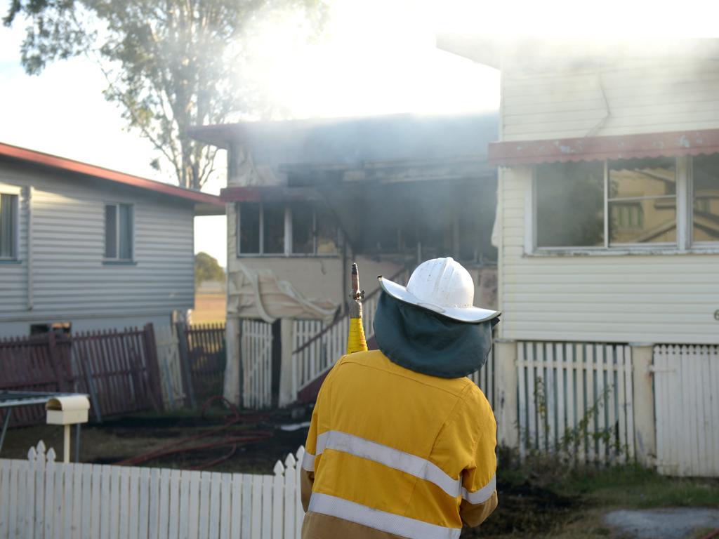Naughton St Wandal house fire