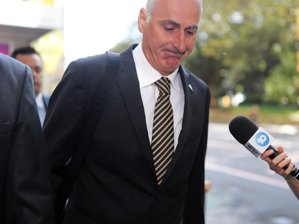 John Sidoti allegedly failed disclose his interests in the Five Dock neighbourhood, the inquiry heard. Picture: NCA NewsWire / Christian Gilles