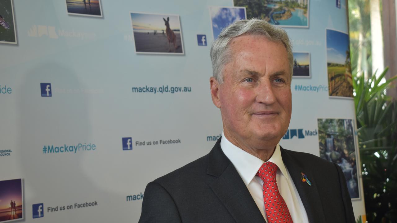 Mackay Regional Council Mayor Greg Williamson. Picture: Zizi Averill