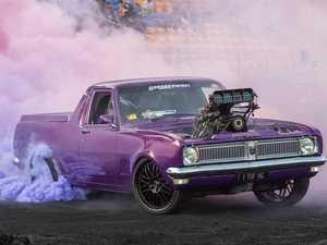 Motorsport king ready to unleash horsepower in Rocky