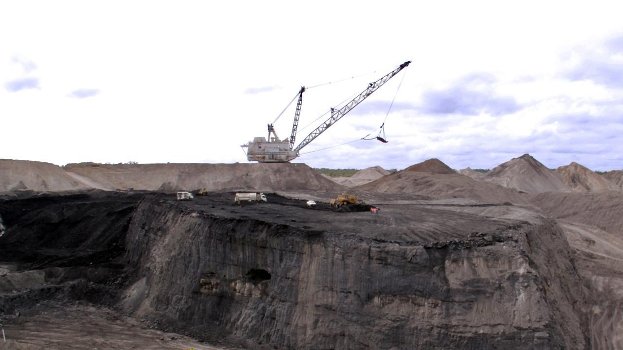 Seam 3 at Blair Athol Coal Mine.