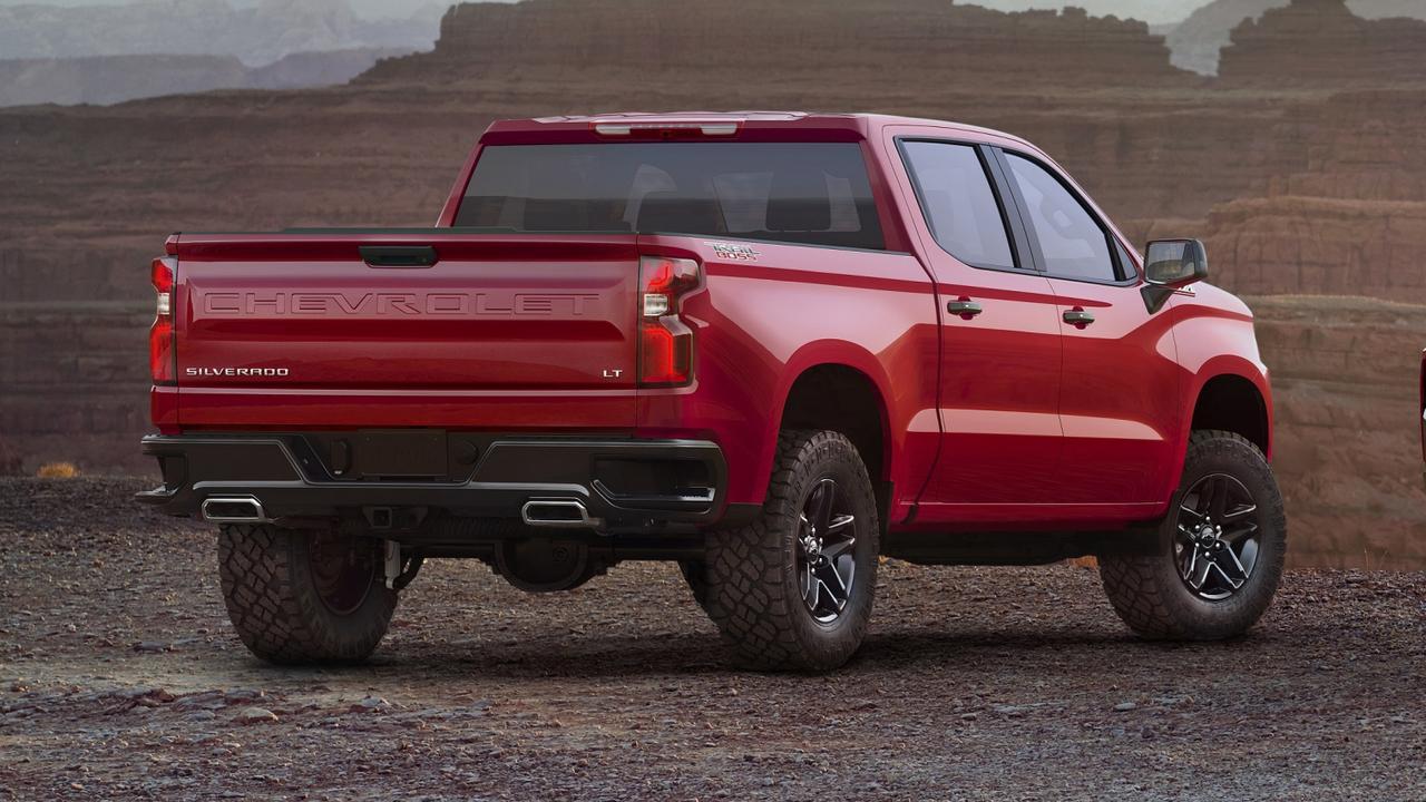 The Silverado LT Trail Boss boosts the vehicle's off-road pedigree.