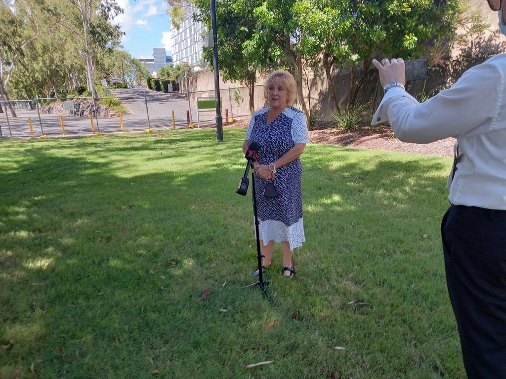 Member for Capricornia Michelle Landry has spoken about the COVID situation in Rockhampton on March 30. Pic: Lachlan Berlin