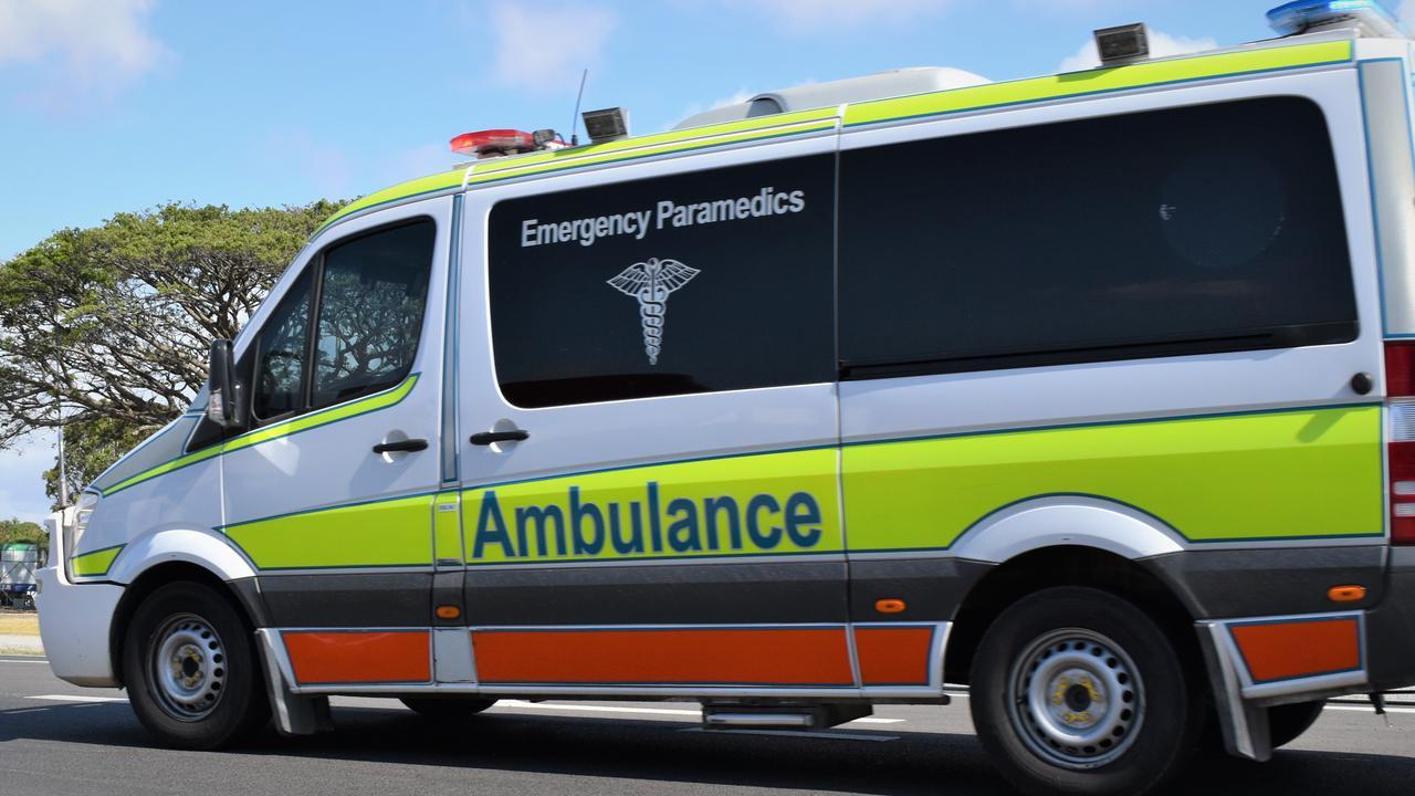 Three people hospitalised following single vehicle crash on Bruce Highway in Proserpine. Picture: Heidi Petith