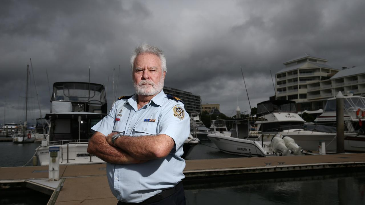 Volunteer Marine Rescue officer in charge of Gulf of Carpentaria Peter Graham. PICTURE: BRENDAN RADKE