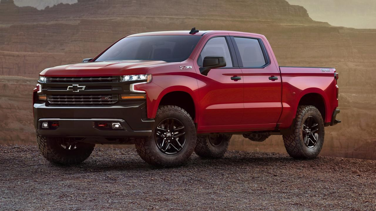 General Motors Special Vehicles imports and converts the big Chevy Silverado to right-hand drive.