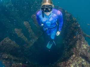 Coast freedivers reach new depths in record course