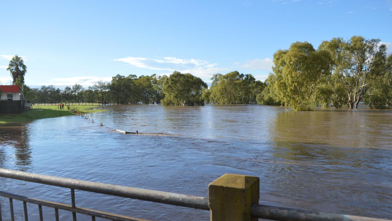 WELCOME RELIEF: The easing restriction come following widespread rain and flooding last week. 