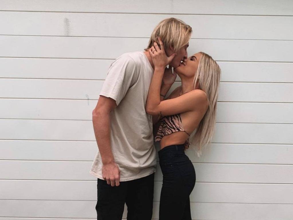 Mikayla Noakes and boyfriend Tate Robinson.