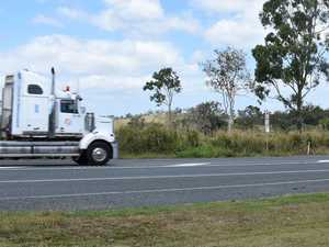 Emergency services rush to truck crash on Peak Downs