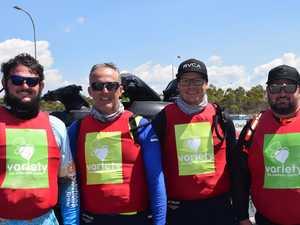Group embark on jet ski trek from Caloundra to Gladstone
