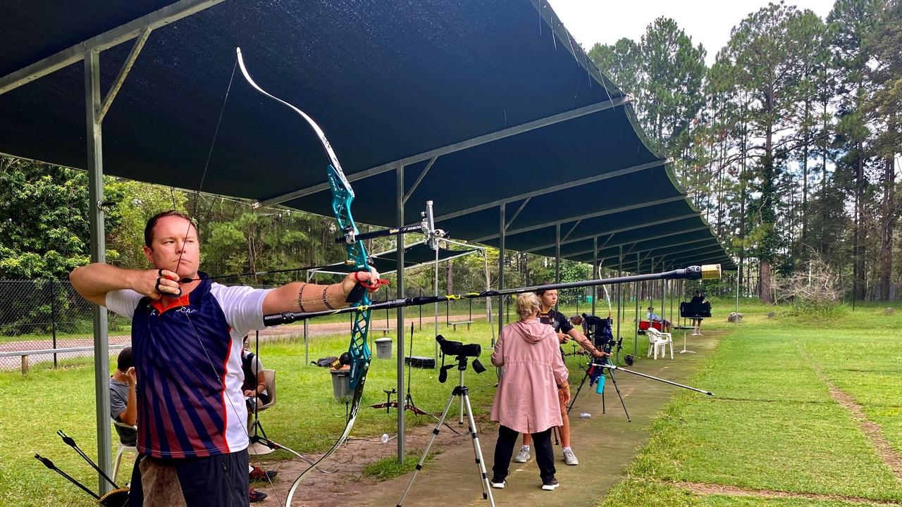Mapleton athlete Ryan Tyack has secured a spot on the Australian archery team and has been training up to 45 hours a week.