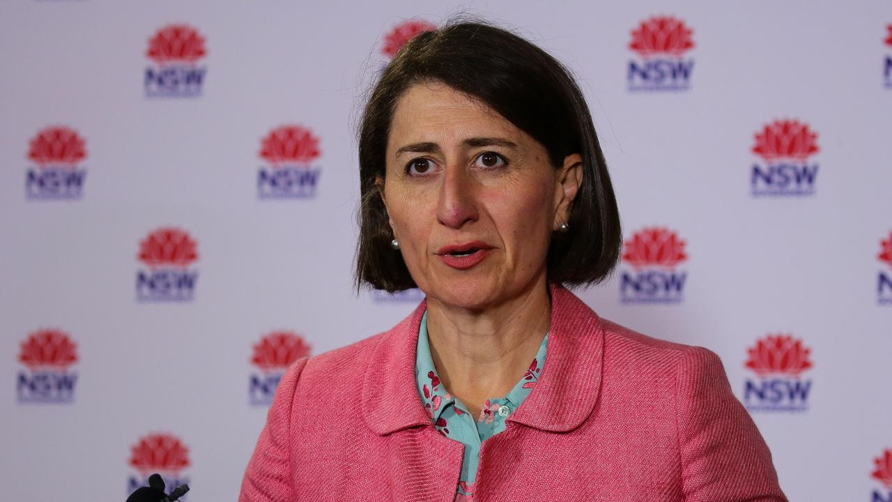 Premier Gladys Berejiklian has said NSW should expect new COVID cases. Picture: NCA NewsWire / Gaye Gerard