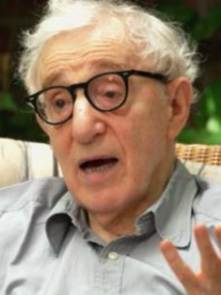 Woody Allen sat down with CBS for his first US TV interview in three decades. Picture: CBS