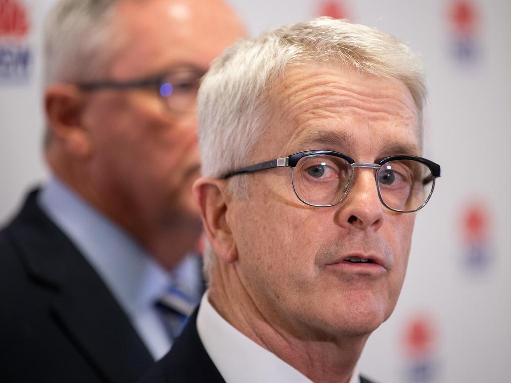 "Professor Dominic Dwyer said that interactions with China were ""complicated and tense"". Picture: AAP Image/James Gourley"