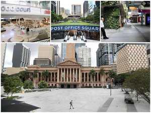 Lockdown leaves Brisbane CBD an 'absolute ghost town'