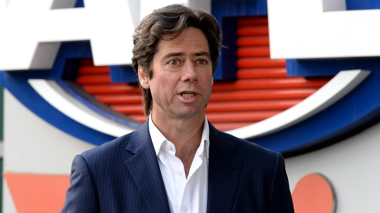 Gillon McLachlan's executive team is back on full pay, but the boss takes another cut