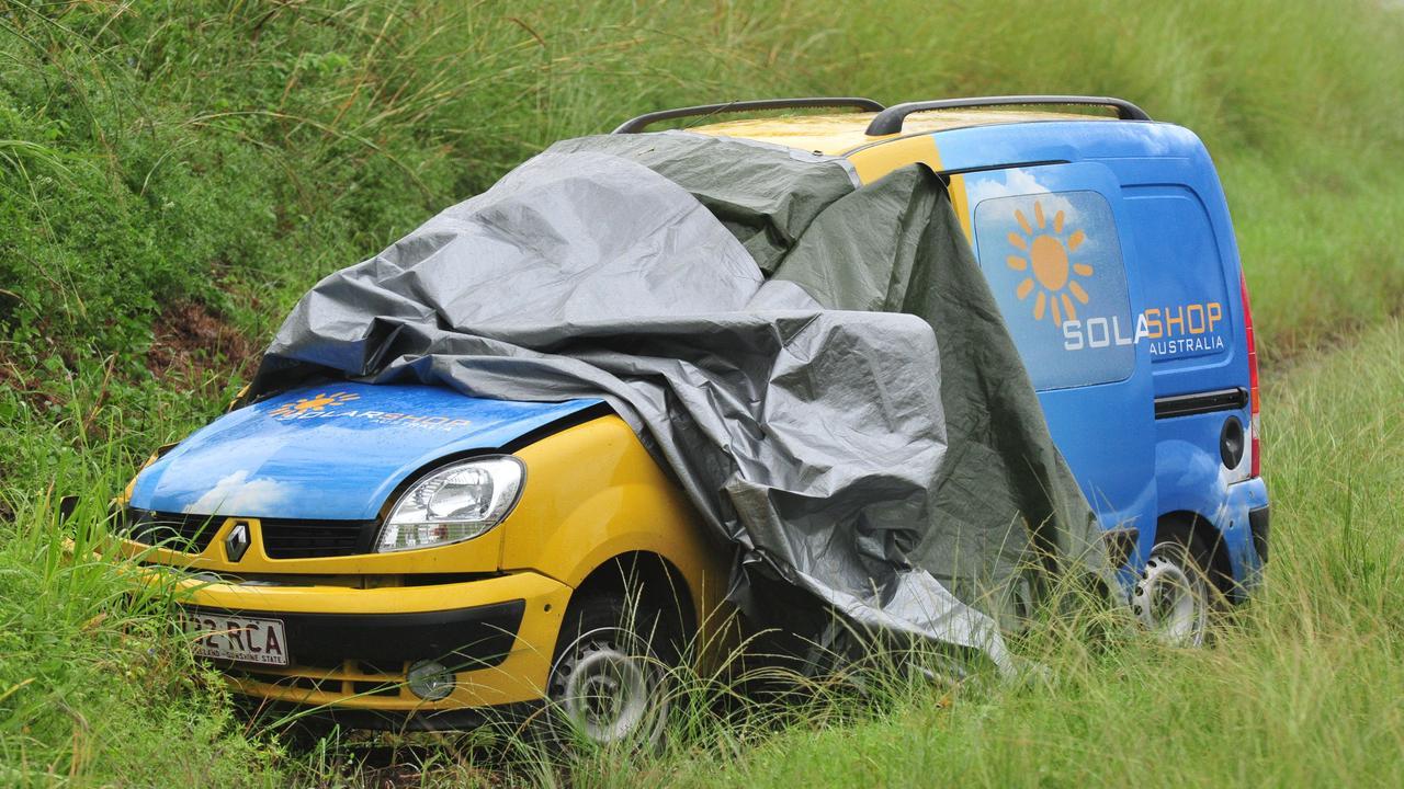 Gold Coast father Geoff Candlin was killed in the car crash near Alligator Creek ten years ago.