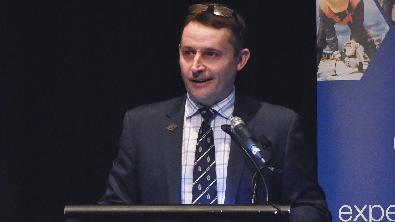 NSW Cross Border Commissioner James McTavish. Photo: Jessica Lamb