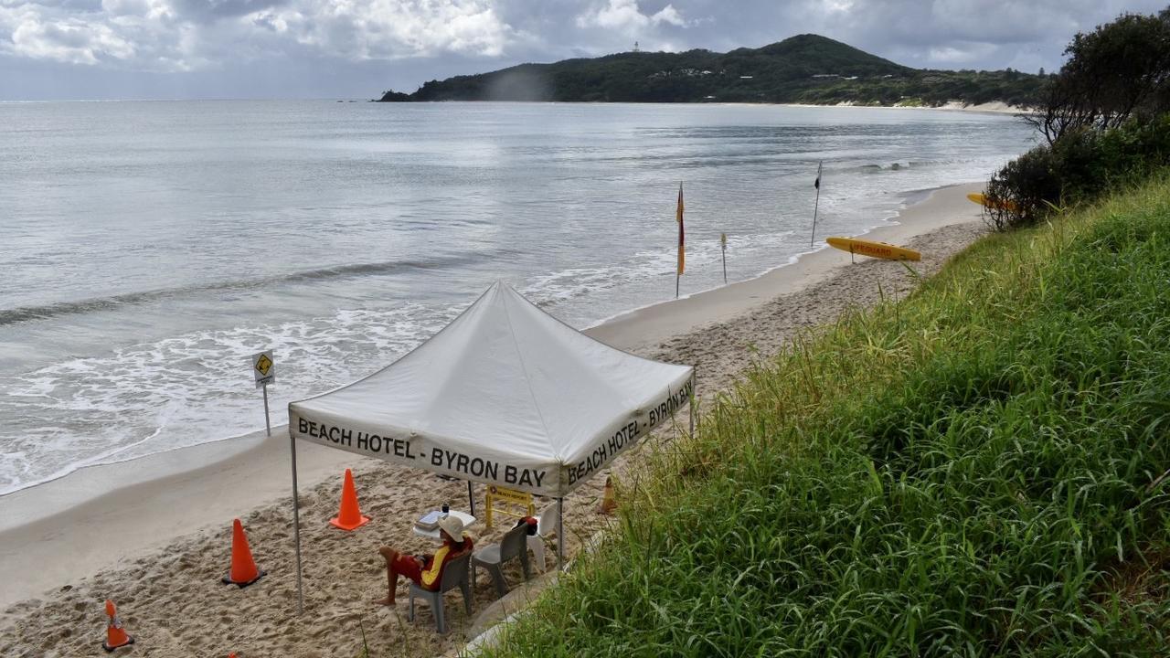 Main Beach at Byron Bay on Tuesday, March 30, 2021.