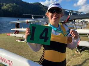 Bundy rower brings home bronze from national comp
