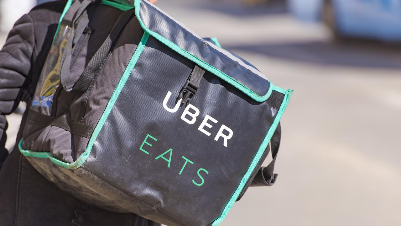 The Uber Eats worker suffered numerous facial injuries from the attack.