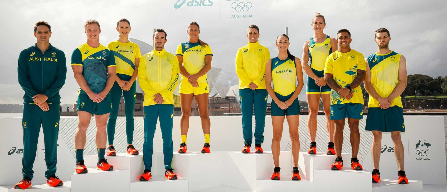 Historic first in our new Olympic uniforms
