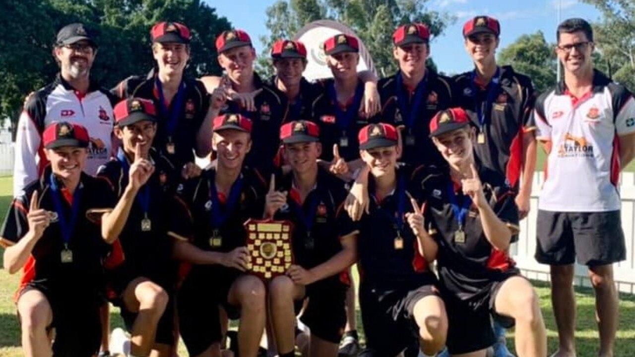 Rockhampton Grammar's First XI won the Rockhampton Cricket Association 3rd grade premiership.