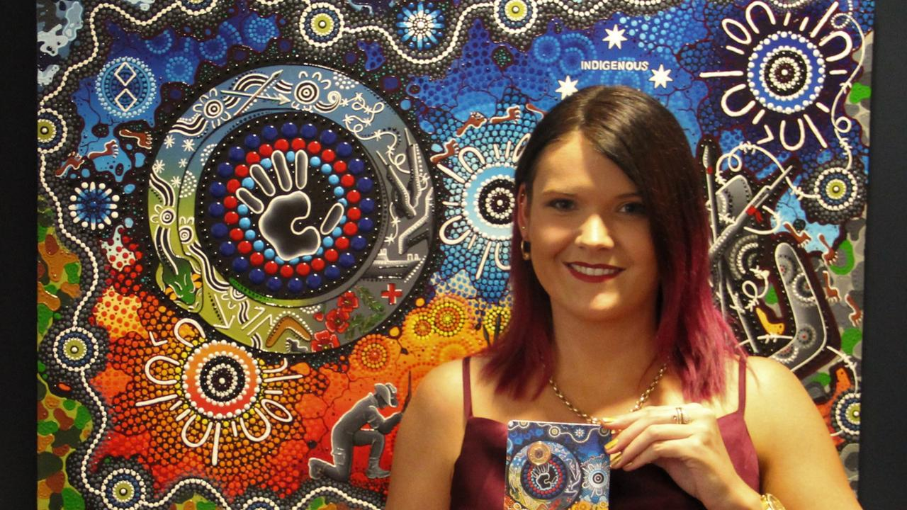 Aboriginal artist and Kalkadoon woman Chern'ee Sutton unveiled the Royal Australian Mint (the Mint) coin in Canberra this week to celebrate indigenous men and women who have served in the military.