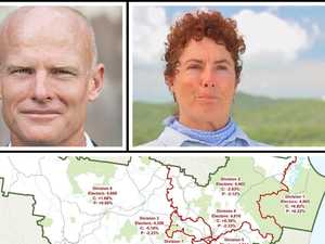 'Fraudulent and deceptive' Gympie regional divisions must go